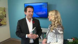 Rick Mercer talks about his newest book on Global News Morning